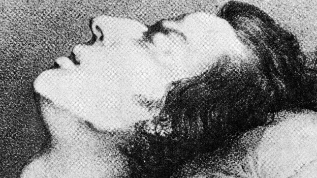 A drawing of Polish composer and pianist Frederic Chopin on his deathbed. (Getty Images)