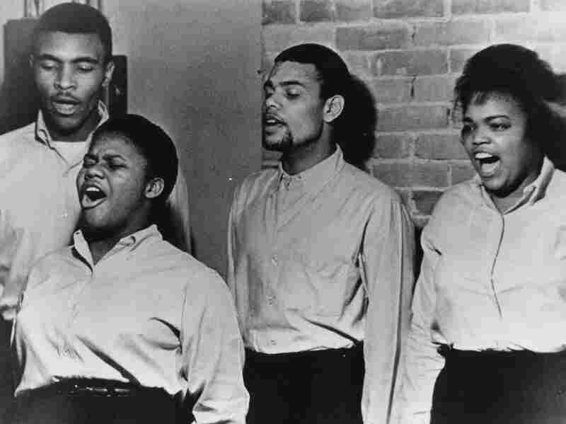 Freedom Singers in 1963