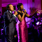 Smokey Robinson and Jennifer Hudson
