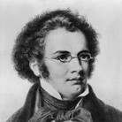 An engraving of Franz Schubert, a year before he wrote his famed String Quintet in C.