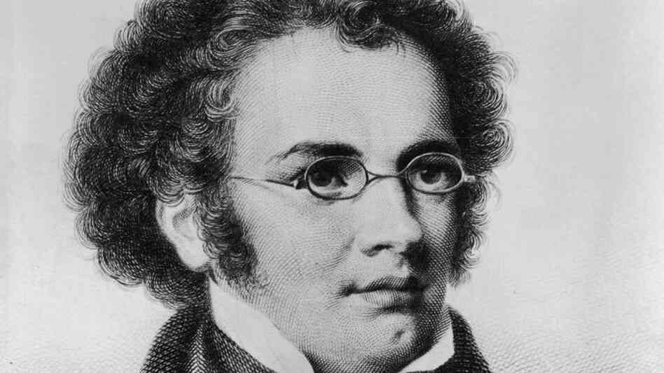 Hide caption an engraving of franz schubert a year before he wrote