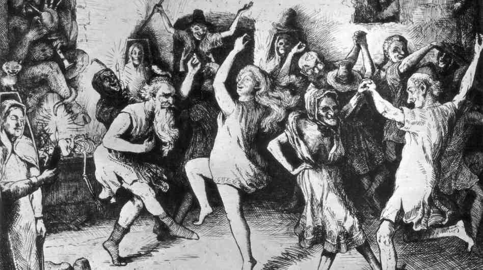 The fifth and final movement of the Symphonie fantastique is set at a witches' Sabbath.
