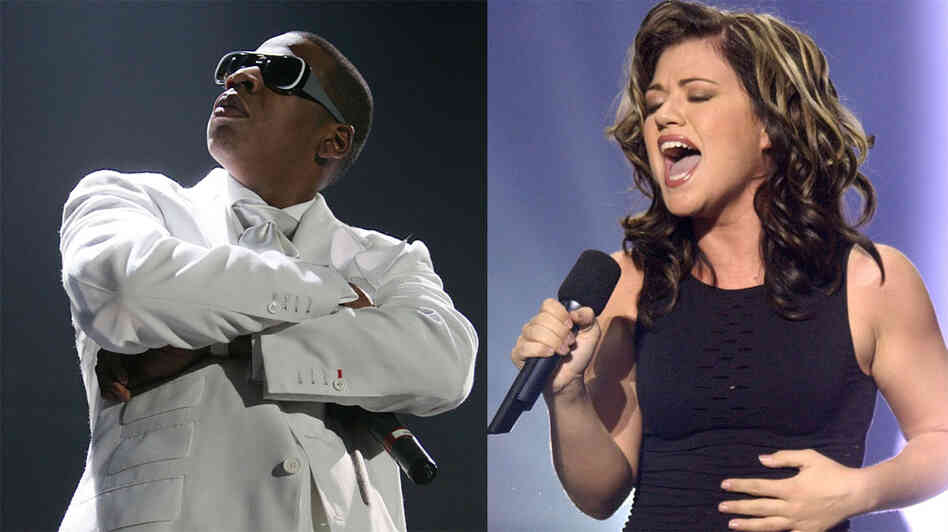 Jay-Z and Kelly Clarkson