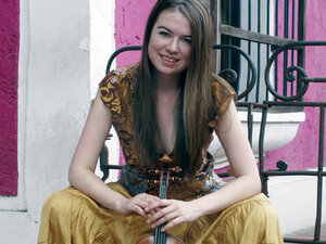 "Violinist Lara St. John was once described as having ""a controversial sense of fun."""