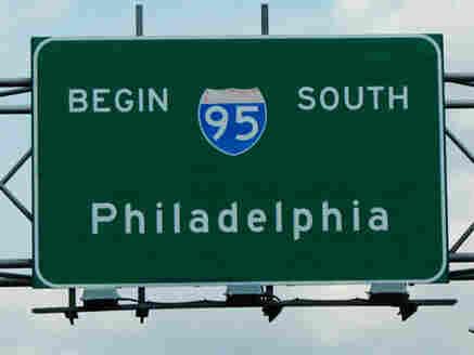 I-95 by Philadelphia