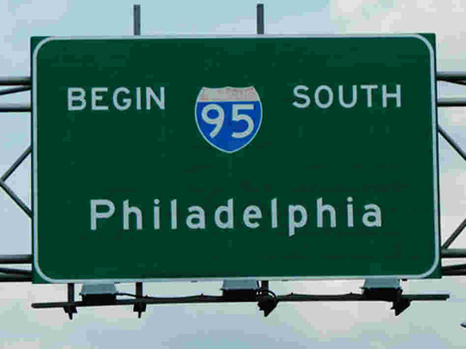 I-95 by Philadelphia