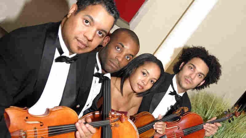Members of the Harlem Quartet