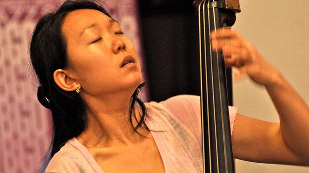 Linda Oh Trio performs at WBGO.
