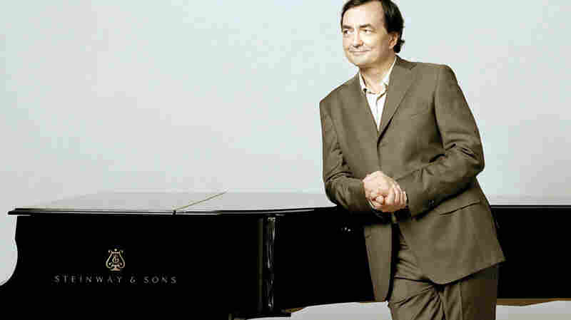 Pianist Pierre-Laurent Aimard takes an assortment of French music to WGBH, in Boston.