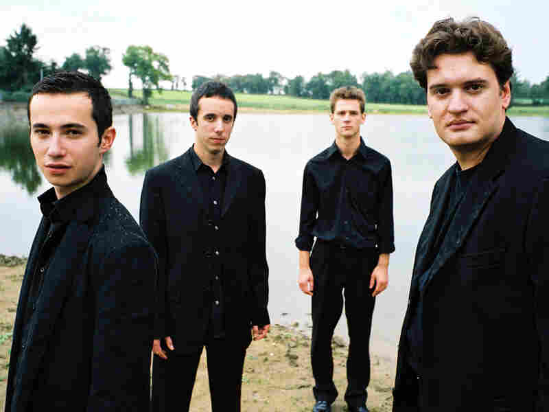 The Paris-based Ebene Quartet