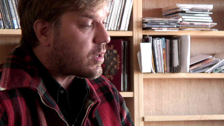 David Dondero performs a Tiny Desk Concert at the NPR Music offices.