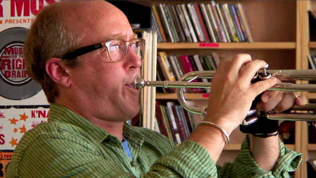 Dave Douglas Brass Ecstacy performing a Tiny Desk Concert.