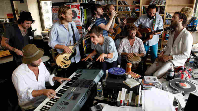 Edward Sharpe And The Magnetic Zeros: Tiny Desk Concert