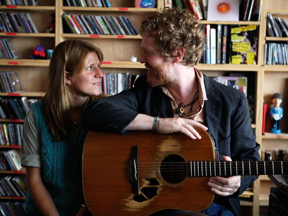 Hear Glen Hansard and Marketa Irglova of The Swell Season perform a Tiny Desk Concert.