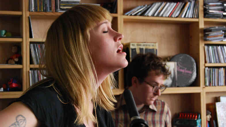 Wye Oak performs a Tiny Desk Concert.