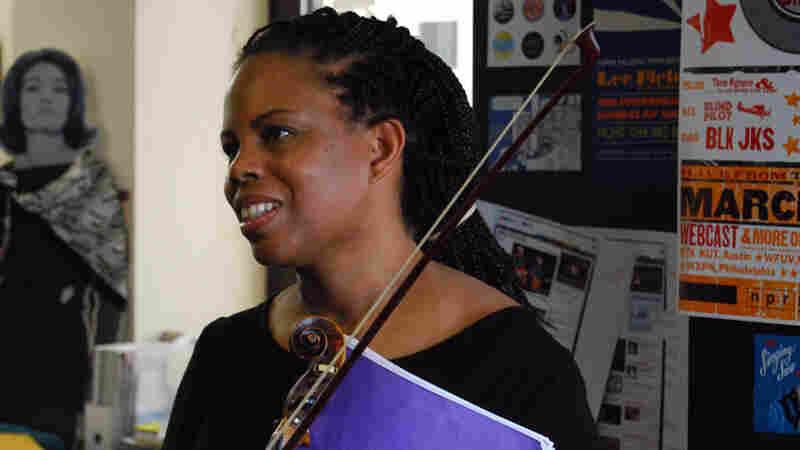 Regina Carter performs a Tiny Desk Concert
