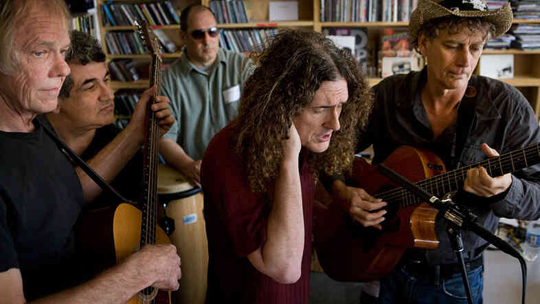 Weird Al Yankovic performs a Tiny Desk Concert at the NPR Music offices.