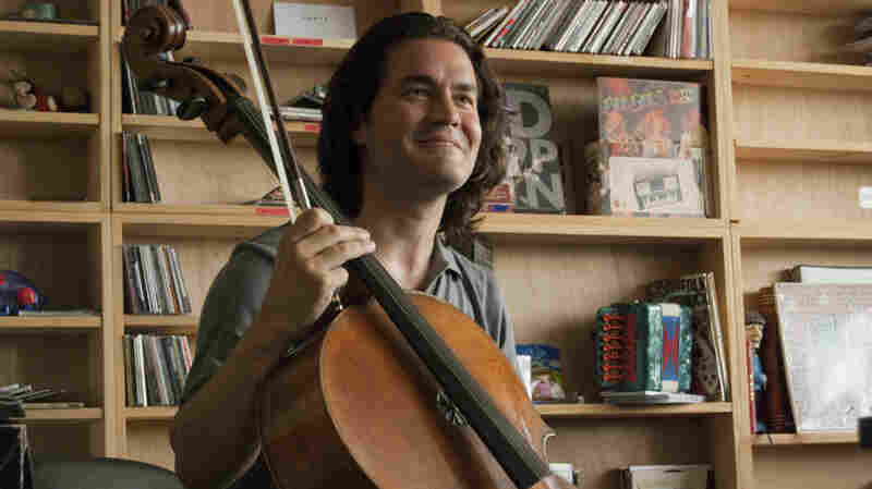 Zuill Bailey performs a Tiny Desk Concert at NPR.
