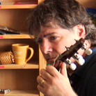 Bela Fleck performs a Tiny Desk Concert at the NPR Music offices.