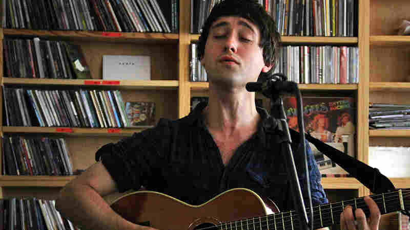 Villagers' Conor O'Brien performs a Tiny Desk Concert at the NPR Music offices.