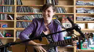 Frazey Ford performs a Tiny Desk Concert at the NPR Music offices.
