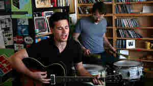 Peter Wolf Crier performs a Tiny Desk Concert at NPR Music offices.
