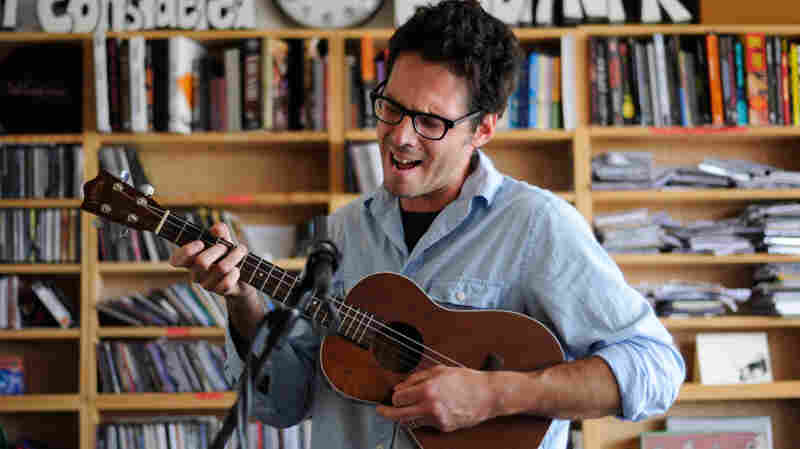 Clem Snide's Eef Barzelay performs a Tiny Desk Concert at the NPR Music offices.