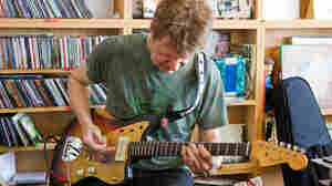 Guitarist Nels Cline performs a Tiny Desk Concert at the NPR Music offices.