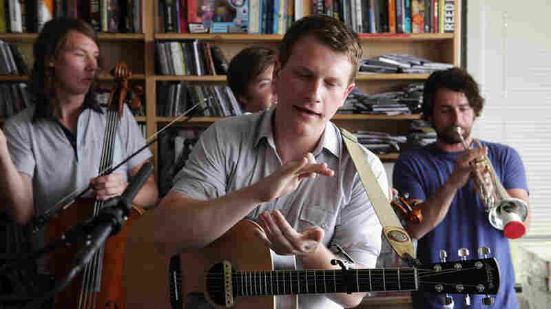Hey Marseilles performs a Tiny Desk Concert at the NPR Music offices.