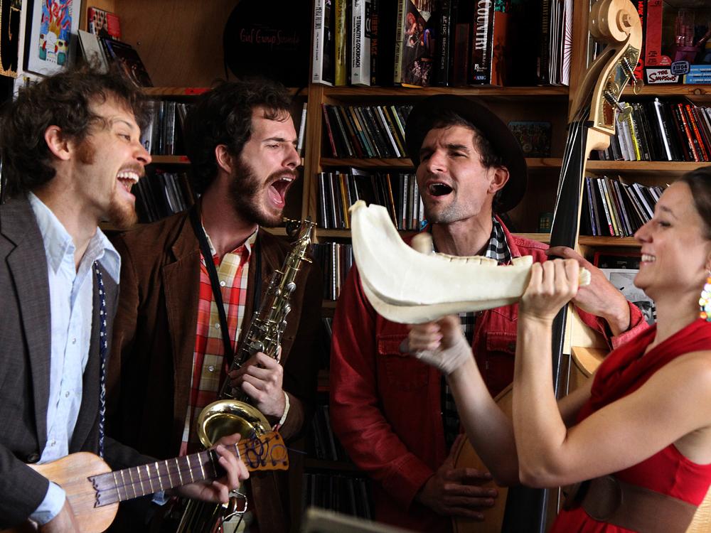 Andrea Echeverri: David Wax Museum: Tiny Desk Concert : NPR