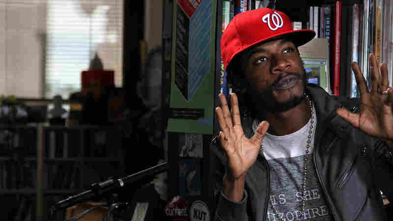 Gyptian performs a Tiny Desk Concert at the NPR Music offices.