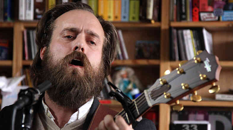 Iron And Wine's Sam Beam performs a Tiny Desk Concert at the NPR Music offices.