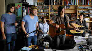 Ivan And Alyosha perform a Tiny Desk Concert at the NPR Music offices.