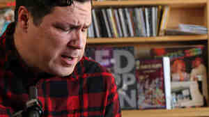 Damien Jurado performs a Tiny Desk Concert at the NPR Music offices.