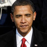 Barack Obama is sworn in as the 44th president of the United States.