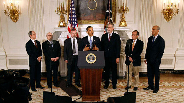 Health executives meet with President Obama on May 11