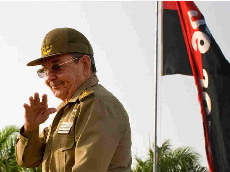 President Raul Castro concludes his speech