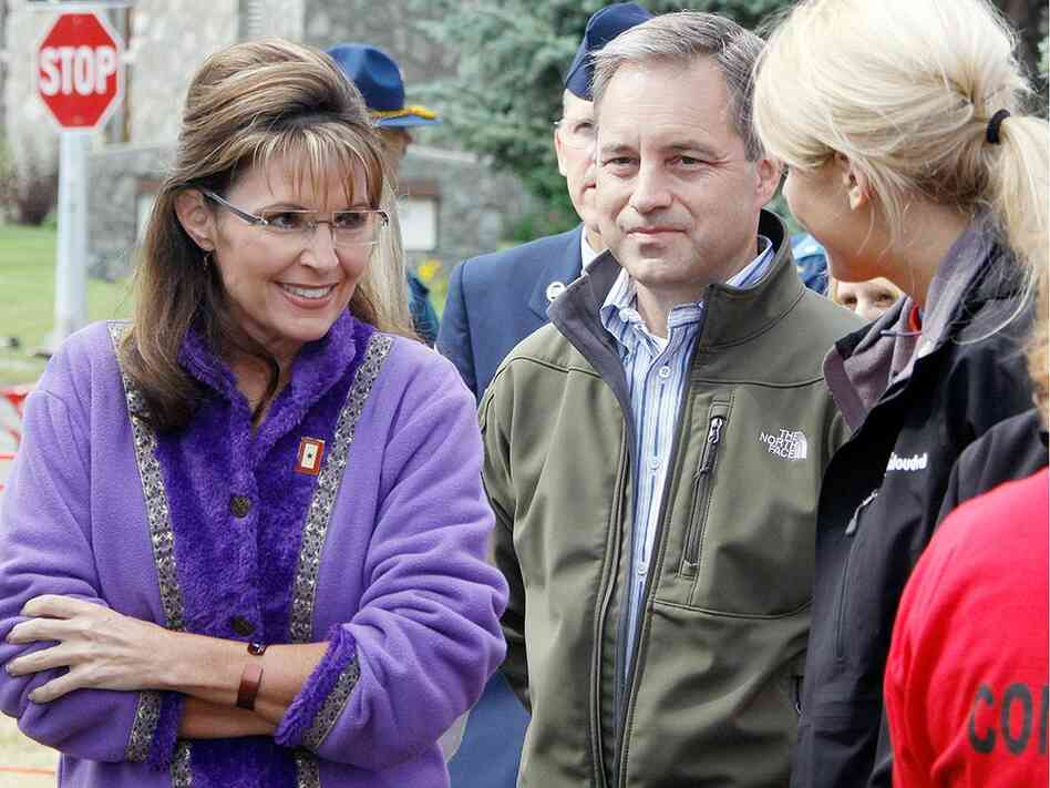 Sean Parnell and Sarah Palin