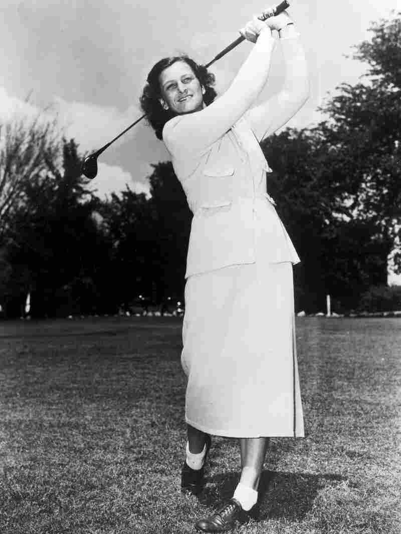 """Mildred """"Babe"""" Didrikson Zaharias in 1944"""