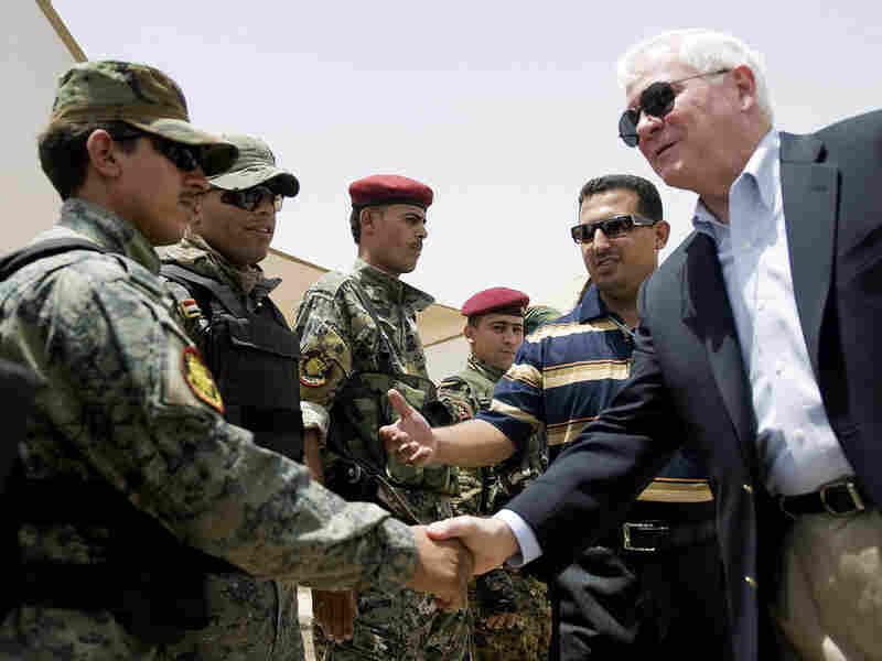 Defense Secretary Gates in Iraq