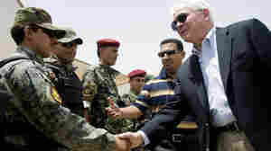 Defense Secretary Makes Unannounced Iraq Visit