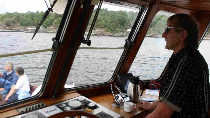 Jansen On His Boat