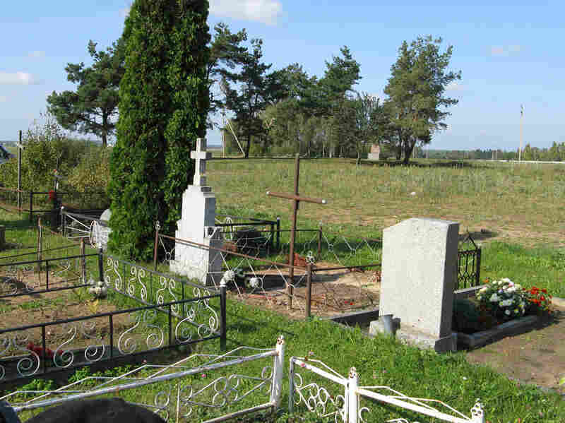 The site in Eisiskes, Lithuania, where women and children were killed by the Einsatzgruppen.