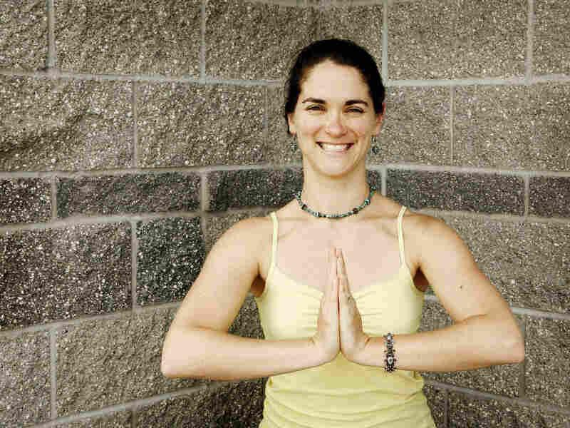 Kelli Kessler May is the teacher for the Street Yoga class.