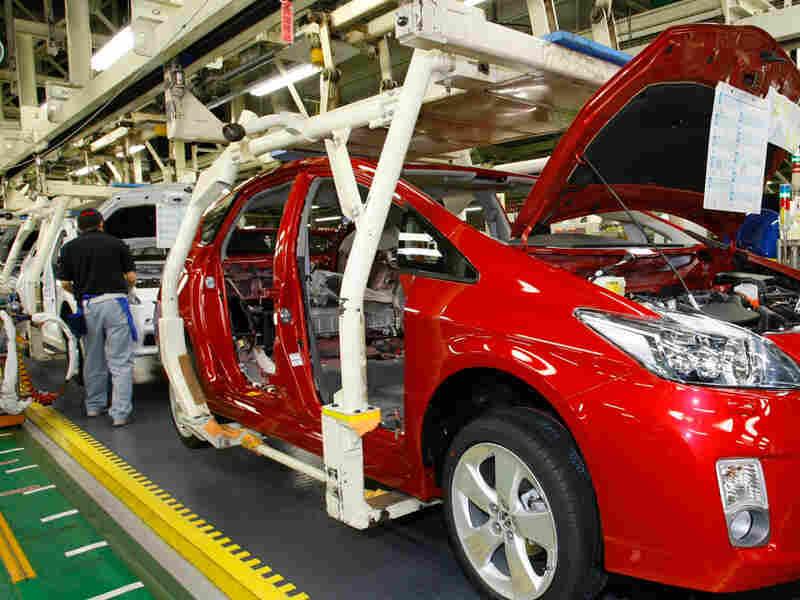 Prius hybrid assembly