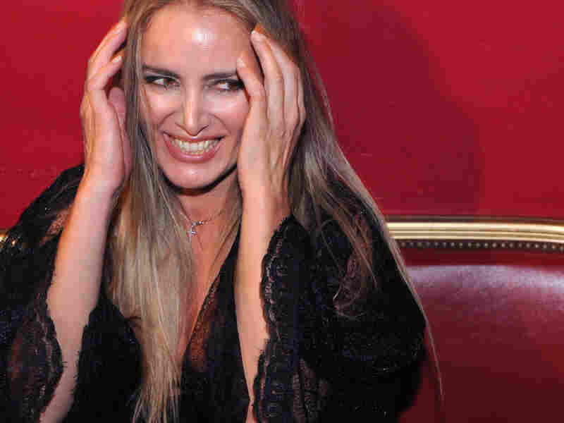 Patrizia D'Addario, a 42-year-old call girl who claims to have slept with Berlusconi