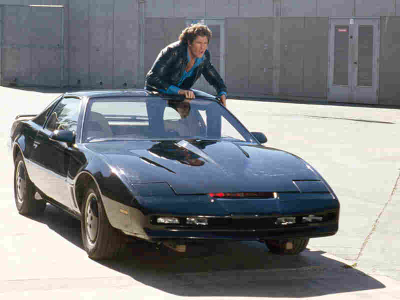 Michael Knight and KITT
