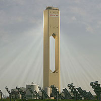 Sq Solar Tower in Seville