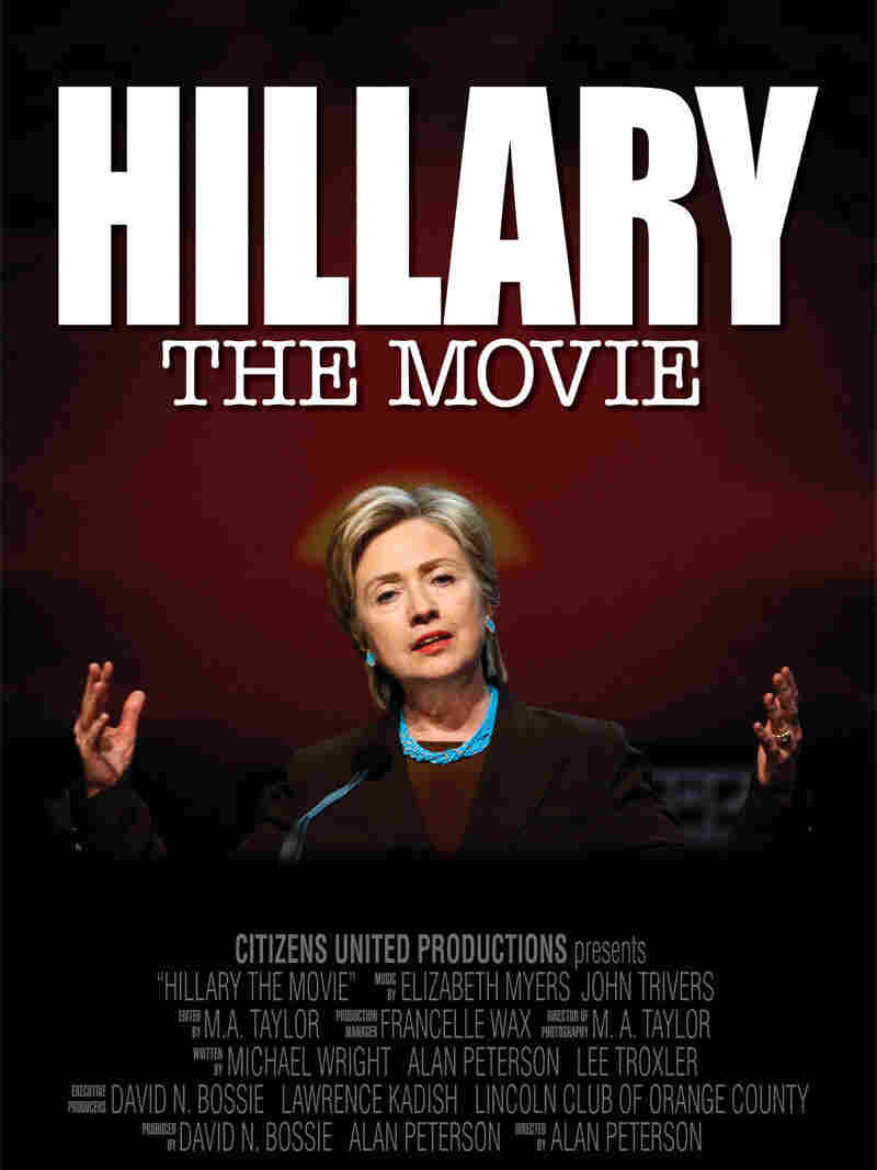 A poster for Hillary: The Movie