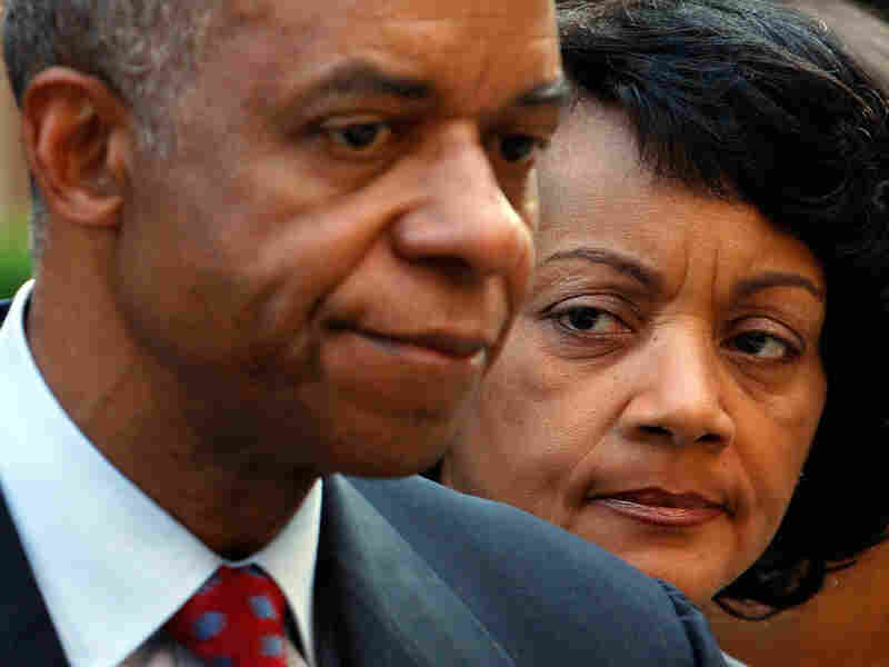 Former U.S. Rep. William Jefferson (D-LA) and his wife, Andrea.